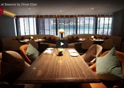 Internships: Seasons by Olivier Elzer restaurant