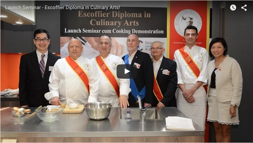 10th Disciples Escoffier Young Talent Cooking Competition- Shenzhen