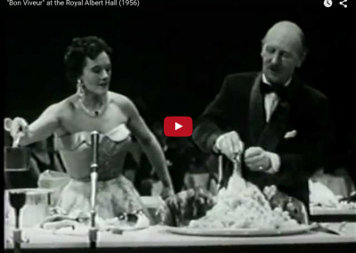 Tribute to Auguste Escoffier (vintage video)