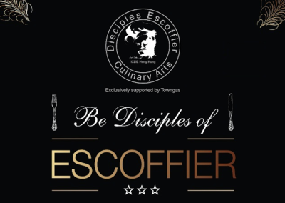 Be Disciples of Escoffier
