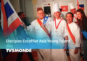 Disciples Escoffier Young Talent Trophy- TV5Monde 16.09.2015
