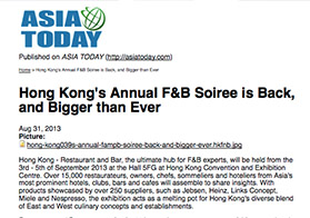 Hong Kong's Annual F&B Soiree is Back, and Bigger than Ever