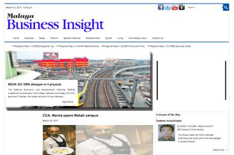 CCA, Manila opens Makati campus | Malaya Business Insight